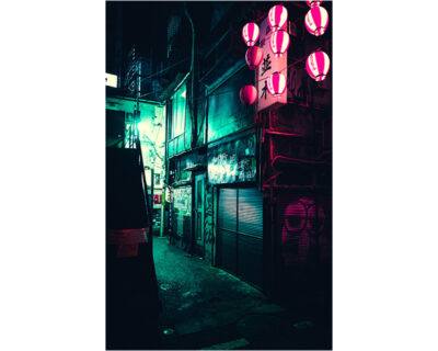 shinjuku city alley off memory lane