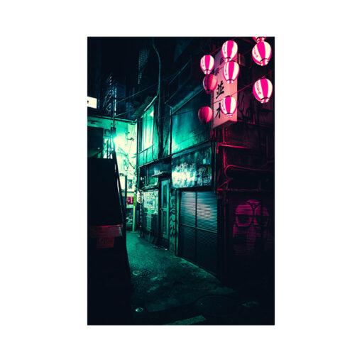 shinjuku city alley off memory lane