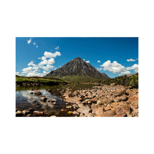 buachaille etive mòr from the river etive