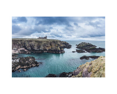 new slains castle landscape